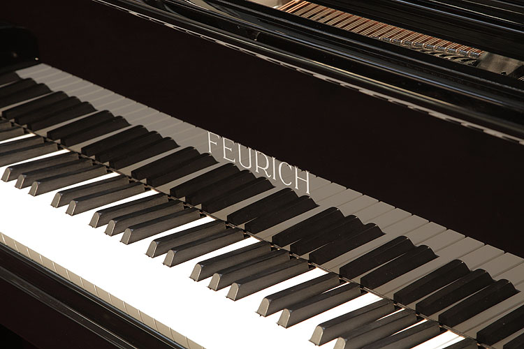 Feurich with adjustable LED strip light Grand Piano for sale. We are looking for Steinway pianos any age or condition.