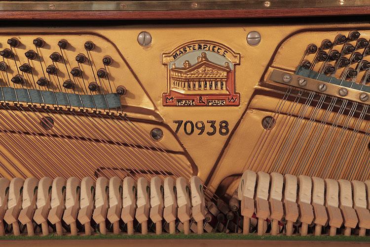 Monington and Weston Upright Piano for sale.