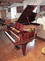 Restored, 1904, Steinway Model A grand piano for sale with a rosewood case and spade legs.