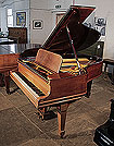 A 1907, Steinway Model O grand piano for sale with a rosewood case and spade legs. Piano has an eighty-eight note keyboard and a two-pedal lyre.