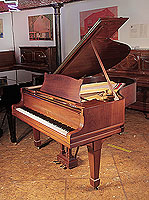 Rebuilt, 1925, Steinway Model O grand piano for sale with a mahogany case and spade legs