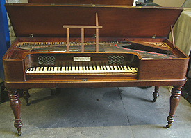 Antique Broadwood Square Piano For Sale