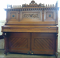 Antique Seiler XB Upright  Piano