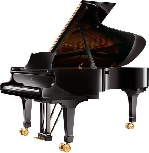 The Steinway Model C is Steinway's Concert Grand Piano Model. This model is designed for smaller sized concert halls.
