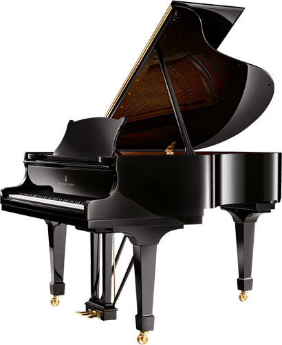 The Steinway Model M is a grand piano small enough to fit in your home or flat.