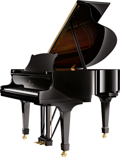 The Steinway model S is a  small grand piano for home use when space is limited.