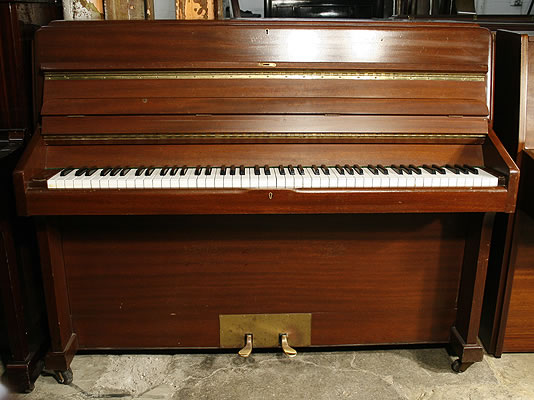 knight upright piano for sale with a mahogany case a 1975 knight upright piano specialist. Black Bedroom Furniture Sets. Home Design Ideas