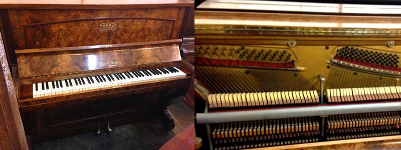 Maxime Freres Upright Piano