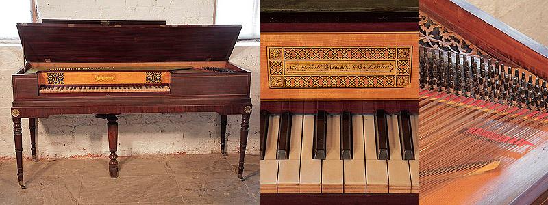 Clementi Square Piano For Sale