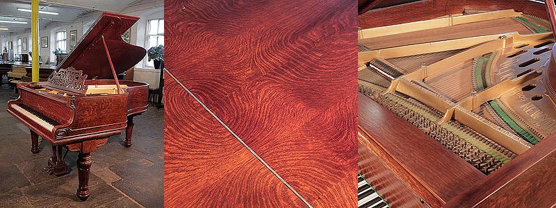 Decker Bros Grand Piano For Sale