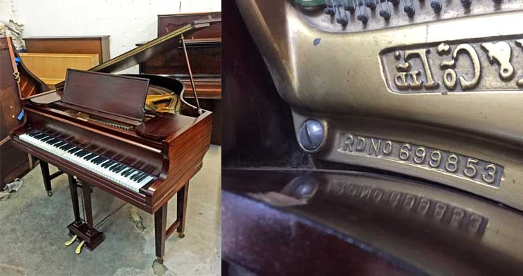 Dale Forty Grand Piano For Sale