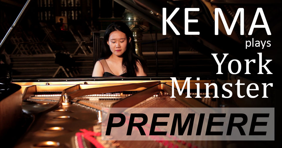 Besbrode Pianos is thrilled to present Ke Ma plays Yorkminster in a dazzling performance featuring Mozart, Debussy and Brahms. This performance will premiere on 24-12-2020 at 19:00 GMT on our YouTube channel and will be available to watch freely after the event