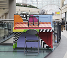 Leeds Piano Trail 17 August � 15 September 2018. 12 decorated pianos are placed around Leeds in iconic locations available for the public to play and enjoy. Look out for pop-up performances, mini recitals, piano lessons and more. Besbrode Pianos supplied all of the instruments on the Trail.