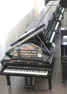 Besbrode Pianos,  since 2006 providing pianos for the competitor's rehearsals for The Leeds International Piano Competition