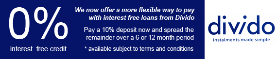 We now offer a more flexible way to pay with interest free loans from Divido. Pay a 10% deposit on the full retail price of a piano now and spread the remainder over 6 or 12 months. Available subject to terms and conditions