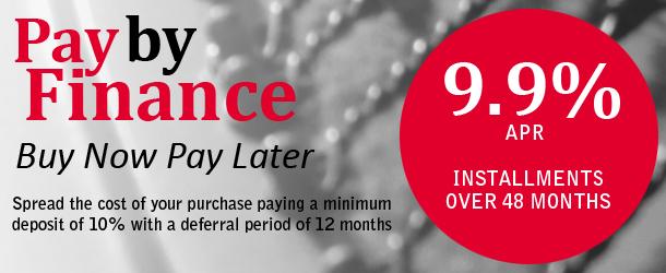 Interest Free Finance Banner