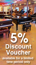 5% discount voucher available to new customers for a limited time period.