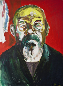 Magic People: Leeds Artist and Performer Mik Artistik showcases a series of portraits in mixed media