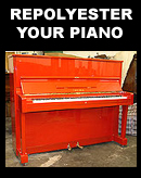 Repolyester your piano