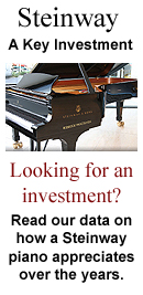 A Guide to the Appreciation in Value of a Steinway Piano Over Time. 